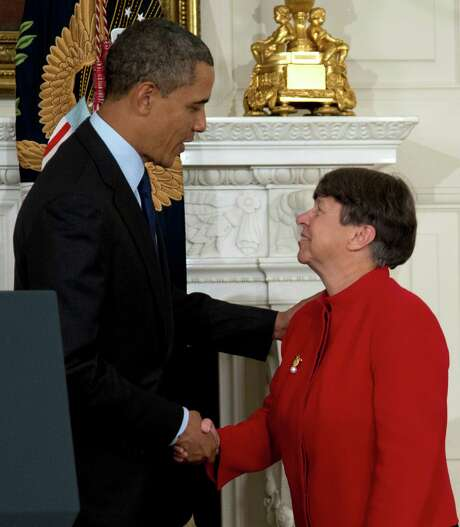 President Barack Obama's SEC nominee, Mary Jo White, spent nearly a decade as the U.S. attorney in Manhattan, bringing down mobster John Gotti. Photo: Carolyn Kaster, STF / AP