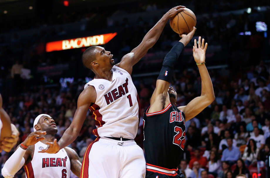 Name:Chris BoshPosition: ForwardTeam: Miami HeatAll-Star Appearances: 8 Photo: J Pat Carter, Associated Press / AP