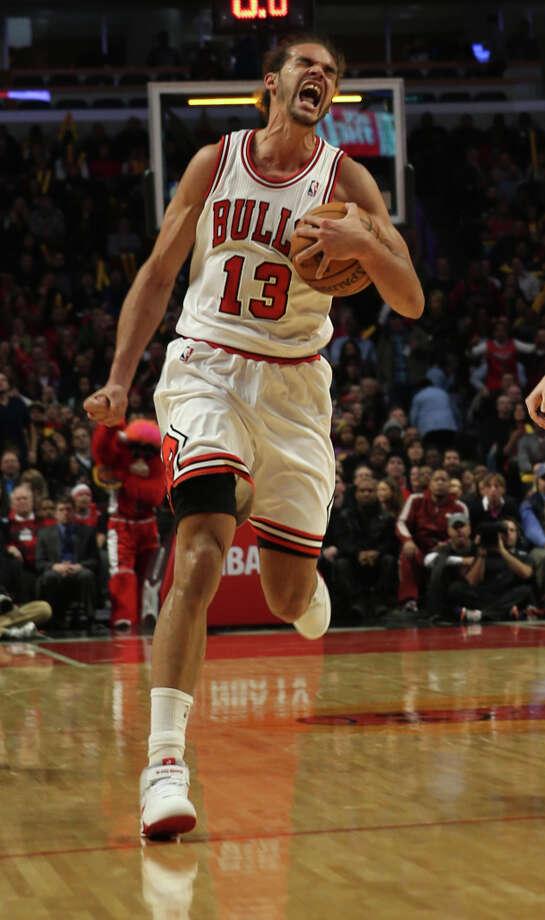 Name:Joakim NoahPosition: CenterTeam: Chicago BullsAll-Star Appearances: 1 Photo: Phil Velasquez, McClatchy-Tribune News Service / Chicago Tribune