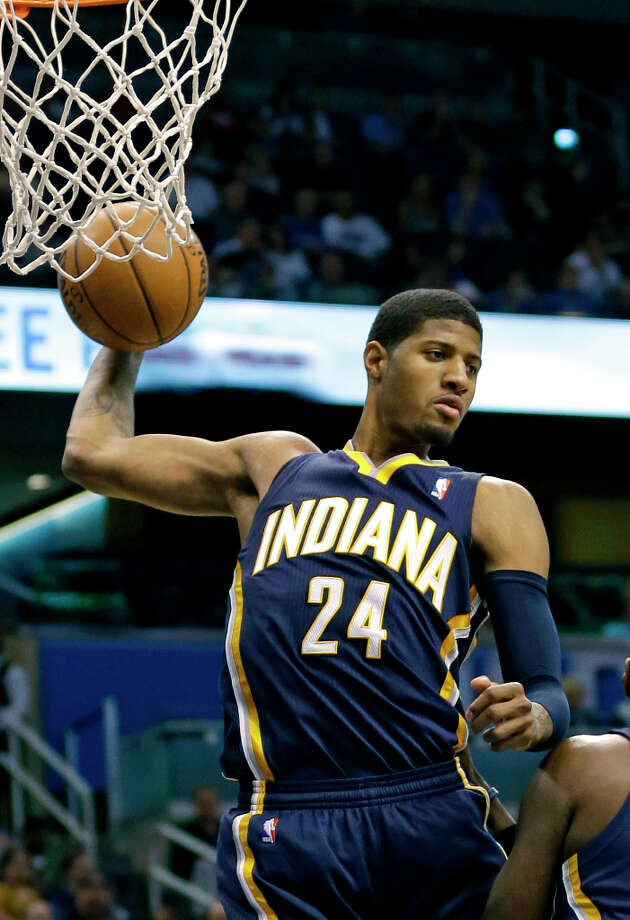 Name: Paul GeorgePosition: GuardTeam: Indiana PacersAll-Star Appearances: 1 Photo: John Raoux, Associated Press / AP