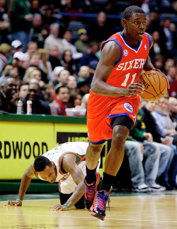 Name:Jrue HolidayPosition: Point guardTeam: Philadelphia 76ersAll-Star Appearances: 1 Photo: JEFFREY PHELPS, Associated Press / FR59249 AP