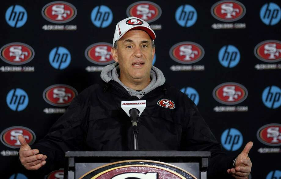 Vic Fangio, 56, has plenty of experience in Xs and Os to be an NFL head coach, but is that enough. Photo: Jeff Chiu / Associated Press / AP