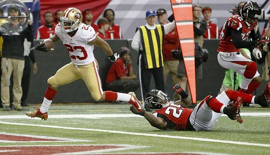 b0256949906010 LaMichael James had to wait for chance - SFGate