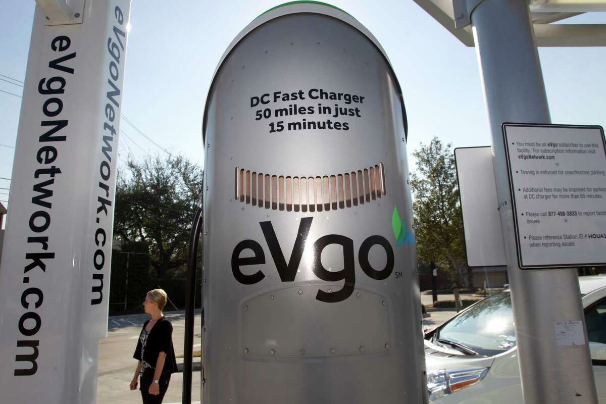 Many charging companies like eVgo, a subsidiary of NRG Energy, set up shop in Houston with funds from a $2.1 million U.S. Energy Department grant.