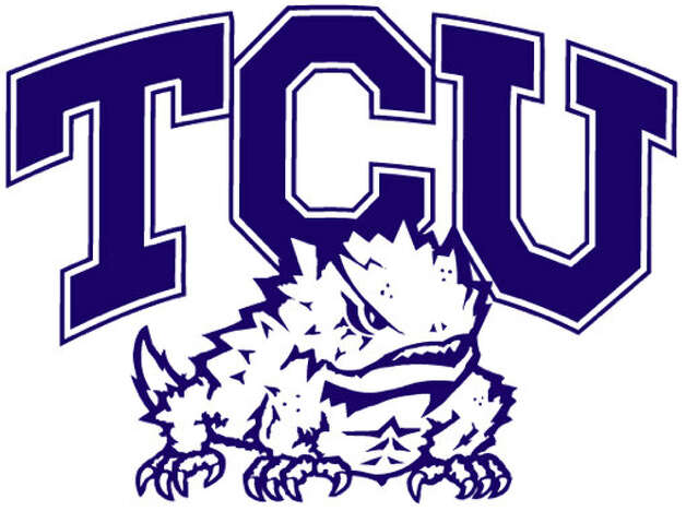 TCU Horned FrogsTexas Christian UniversityFort Worth, TexasTCU managed to get the horned frog in its logo look mean and intimidating. That's impressive. But you gotta admit, Horned Frogs is a pretty goofy nickname. All those horny Christians ...