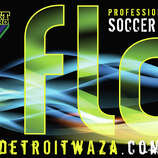 Detroit Waza FloProfessional Arena Soccer LeagueTaylor, Mich.We have absolutely no idea what ''Waza,'' ''Flo'' or ''Waza Flo'' mean. Any guesses?