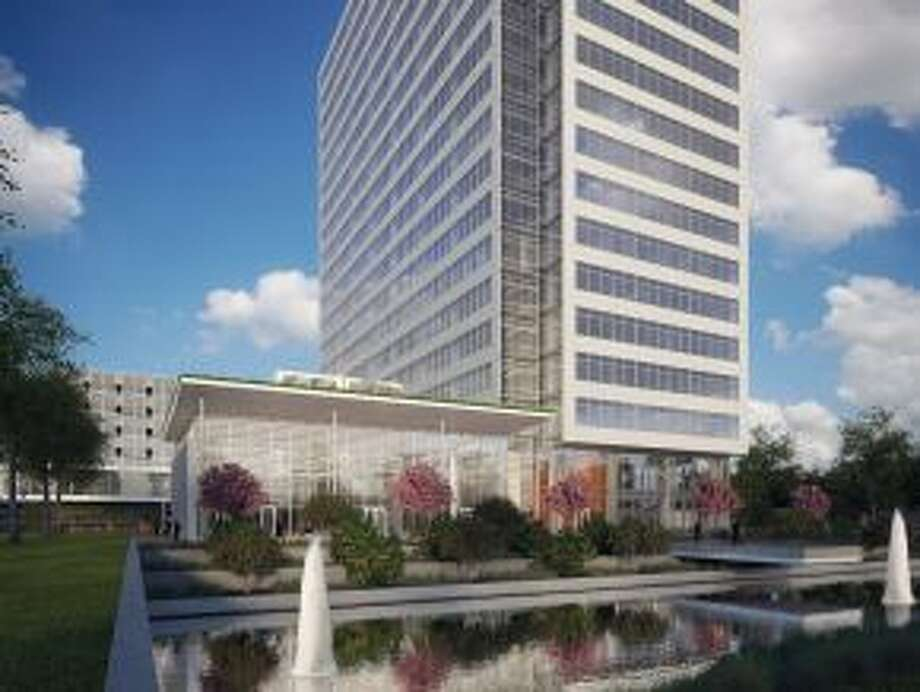 Rendering of Noble Energy Center Two, part of the future Noble Energy headquarters.