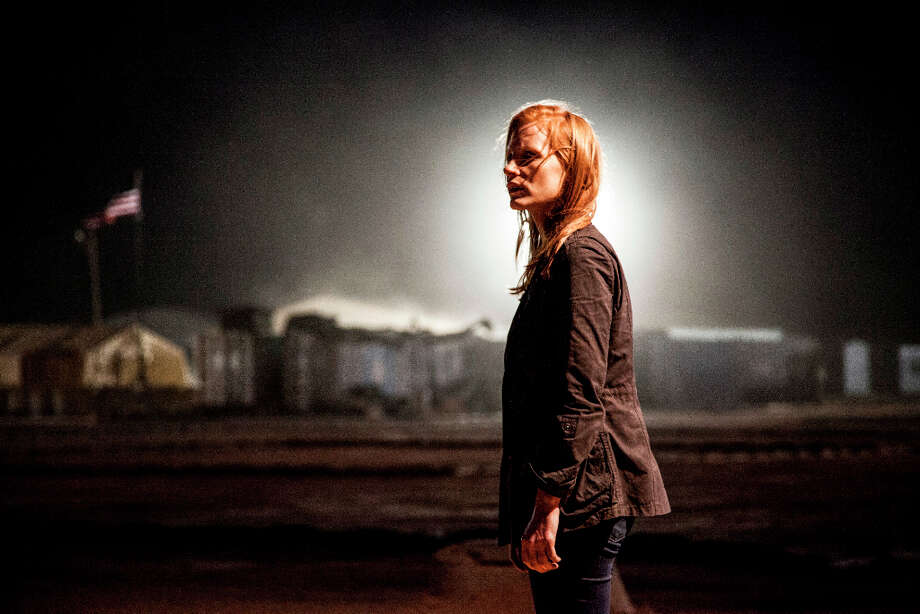 """Zero Dark Thirty""Nominations: picture, actress ( Jessica Chastain)In theaters: Multiple theaters in Capital RegionOn DVD: unknownJessica Chastain,  as Maya, in Zero Dark Thirty. Photo: Jonathan Olley, AP / Columbia Pictures Industries, In"