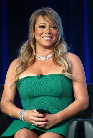 Judge Mariah Carey talks to TV critics.