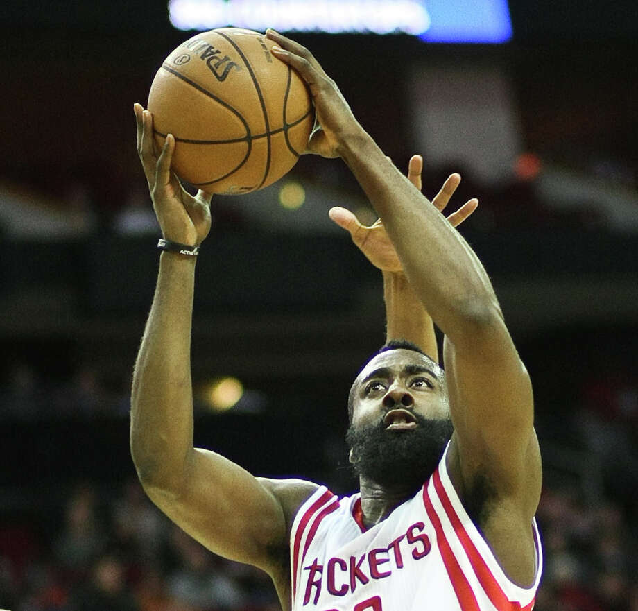 James Harden : 2013 Photo: Nick De La Torre, Houston Chronicle / © 2013  Houston Chronicle