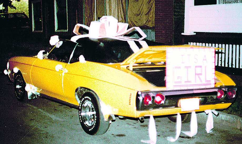 Copperwheat's Chevelle played an important role in family events and outings through the years. Photo: PHOTO COURTESY OF LEN COPPERWHEA