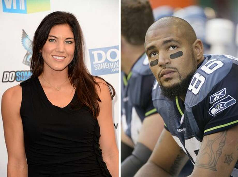 On Nov. 13, 2012, Hope Solo married Jerramy Stevens, who played football in the University of Washington and later in the NFL. His was career marked by trouble with the law, including the day he married Solo.