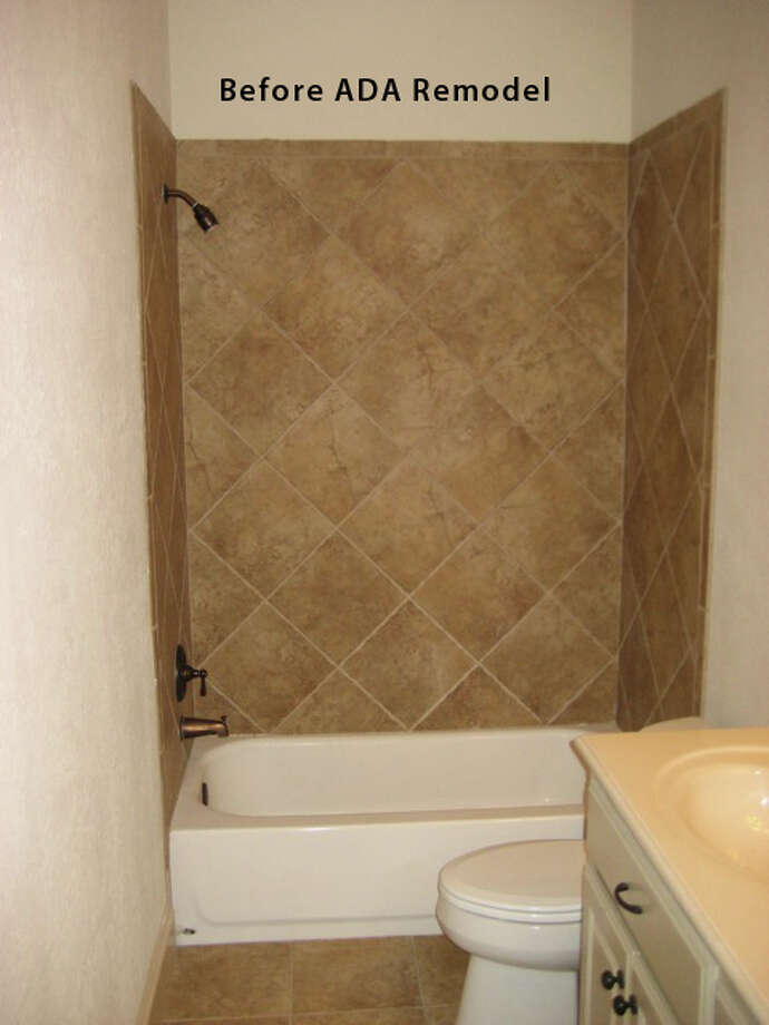 Some examples of aging-in-place include installing grab bars in shower stalls and putting in a ramp to replace steps.