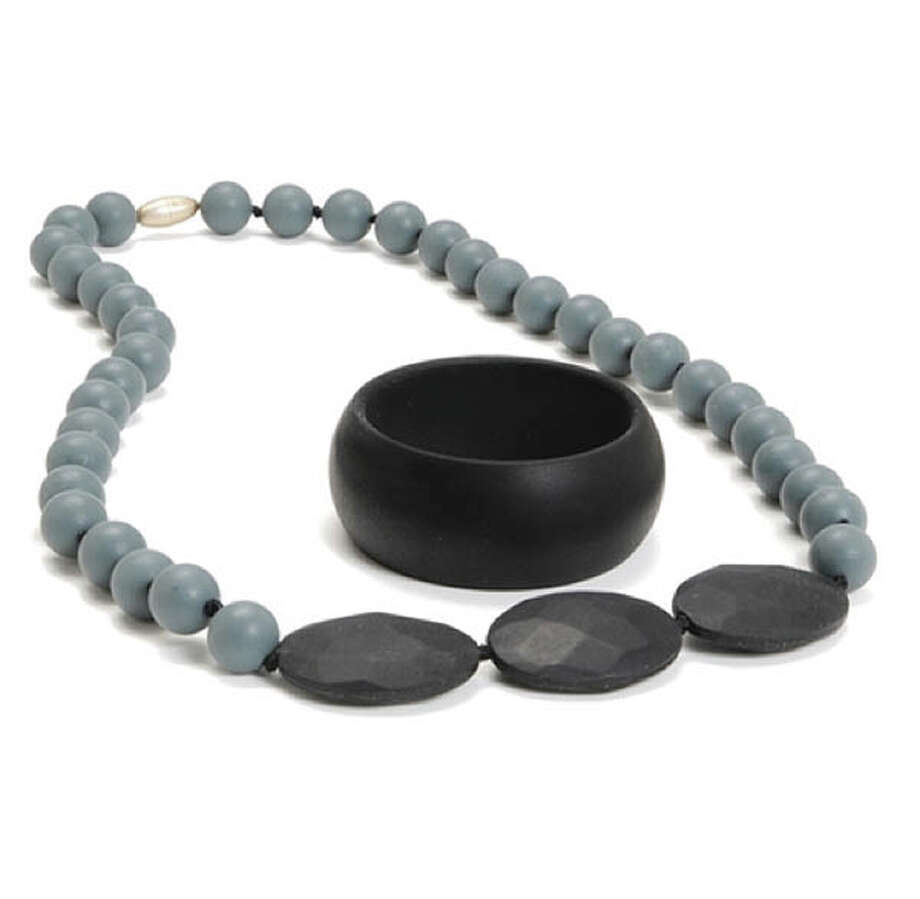 Chic mommies with infants rejoice! Chewbeads has come out with a line of chewable jewelry that is BPA-, PVC-, phthalates-, lead-, cadmium- and heavy metal-free. They have a variety of adorable necklaces and bracelets that your little one will also appreciate!chewbeads.com