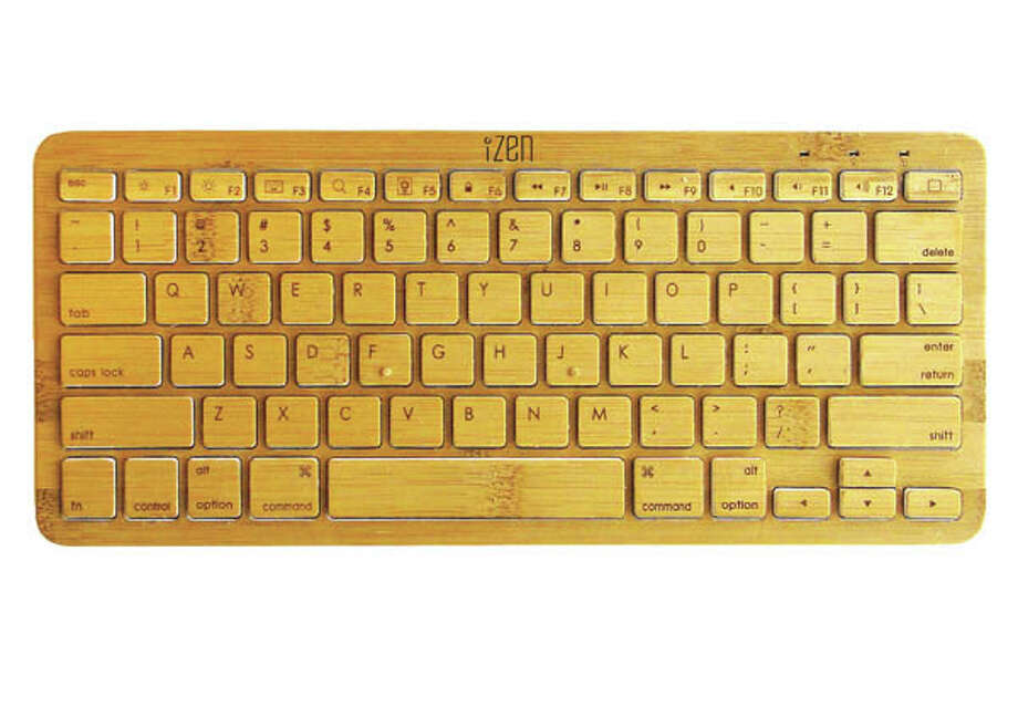 The green techie in your life will love this Bluetooth bamboo keyboard. You can even get a matching iPad or iPhone case!izenbamboo.com
