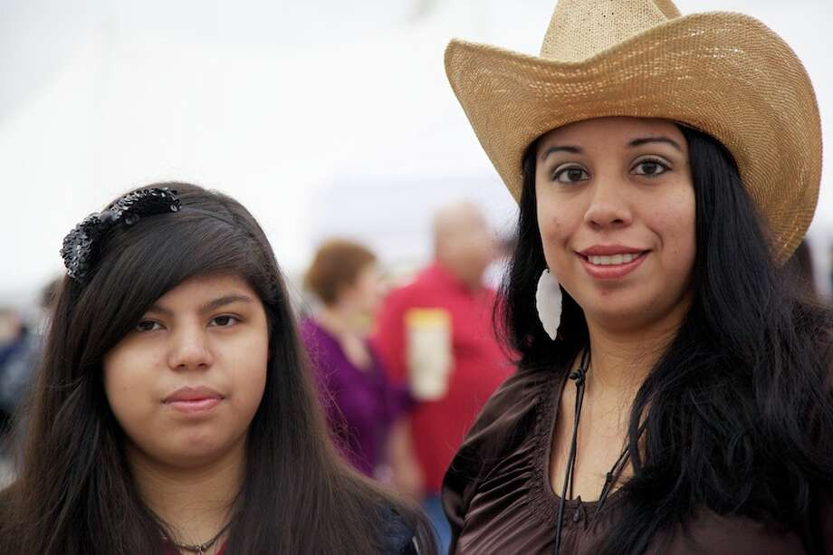 San Antonians set their alarms for the 35th annual Cowboy Breakfast Friday, Jan. 25, 2013. The crowd at Cowboys Dance Hall was in the tens of thousands, with some estimates as high as 55,000. Photo: Xelina Flores-Chasnoff/For The Express-News