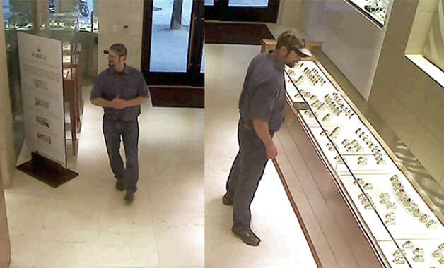 This man, described by police as fishy-smelling and toothless, is suspected of stealing a $45,000 Rolex watch from a downtown Seattle jeweler.