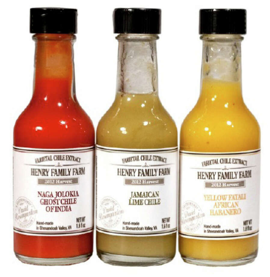 Henry Family Farm chile extracts.