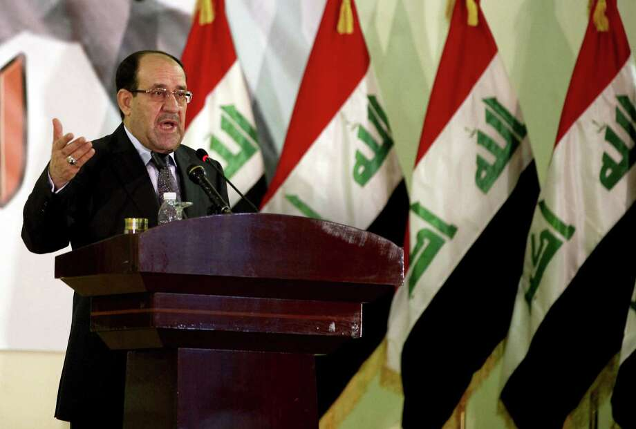 Iraq's Prime Minister Nouri al-Maliki shut out the Sunnis, and he should include them in governing. Photo: Hadi Mizban, Associated Press / AP