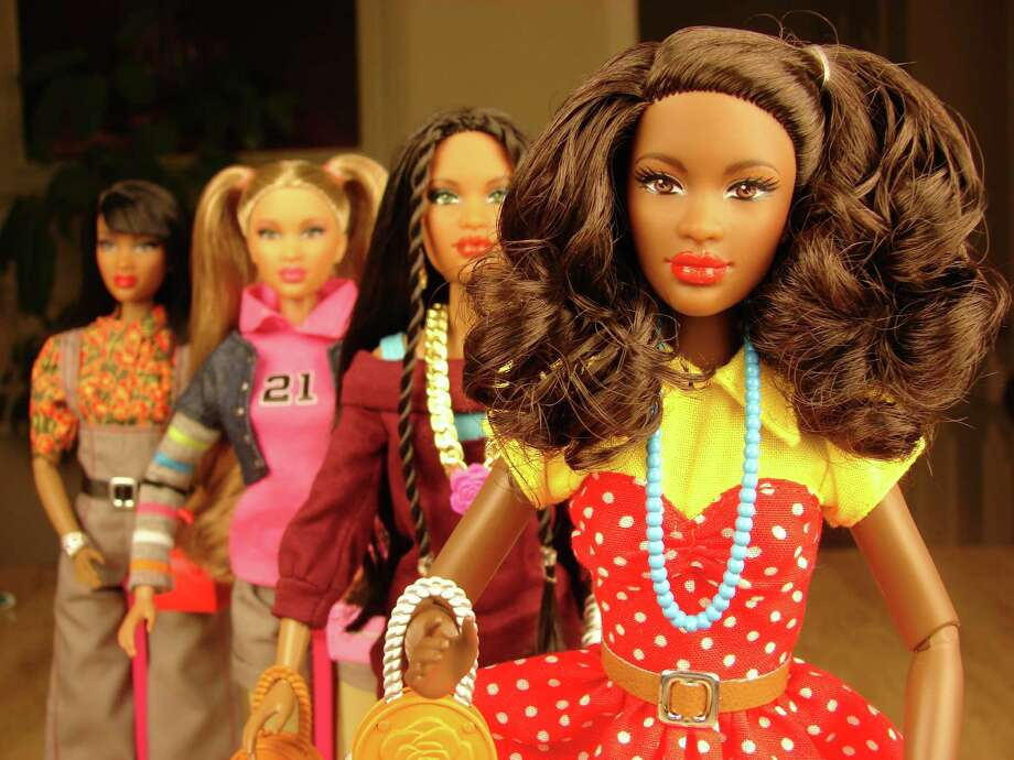 These four dolls are part of the new Prettie Girls! OWP line offered by The One World Doll Project. The Houston company plans to start selling the dolls in April. Photo: One World Doll Project