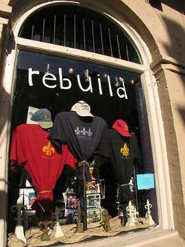 Shop in the French Quarter in 2006.