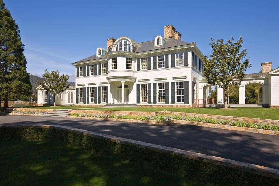 Nine acre Woodside estate is most expensive property sold in California.