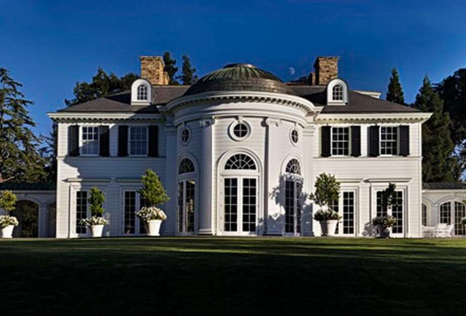 Neoclassical design was created by East Coast based architect Allan Greenberg