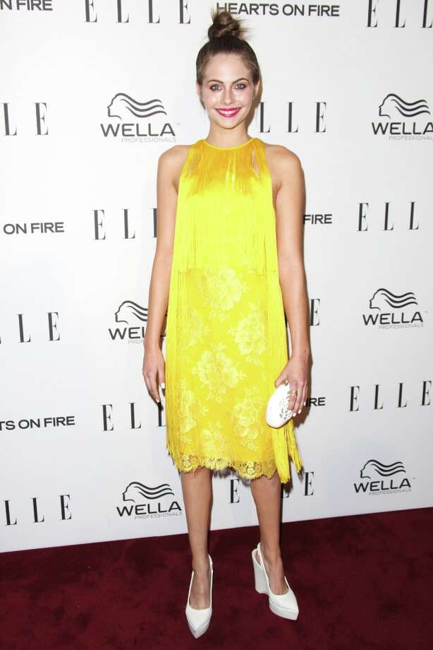 Willa Holland attends the ELLE Women in Television Celebration presented by Hearts on Fire Diamonds and Wella Professionals held at Soho House on January 24, 2013 in West Hollywood, California. Photo: Tommaso Boddi, Getty Images / 2013 Getty Images