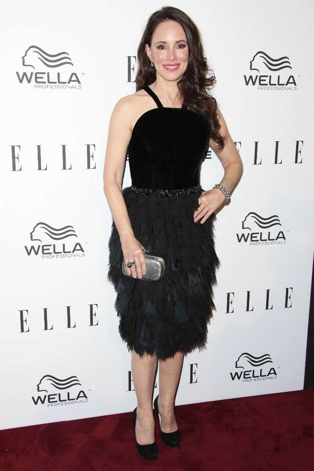 Madeleine Stowe attends the ELLE Women in Television Celebration presented by Hearts on Fire Diamonds and Wella Professionals held at Soho House on January 24, 2013 in West Hollywood, California. Photo: Tommaso Boddi, Getty Images / 2013 Getty Images