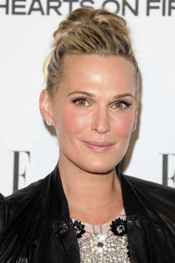Molly Sims attends the ELLE Women in Television Celebration presented by Hearts on Fire Diamonds and Wella Professionals held at Soho House on January 24, 2013 in West Hollywood, California. Photo: Tommaso Boddi, Getty Images / 2013 Getty Images