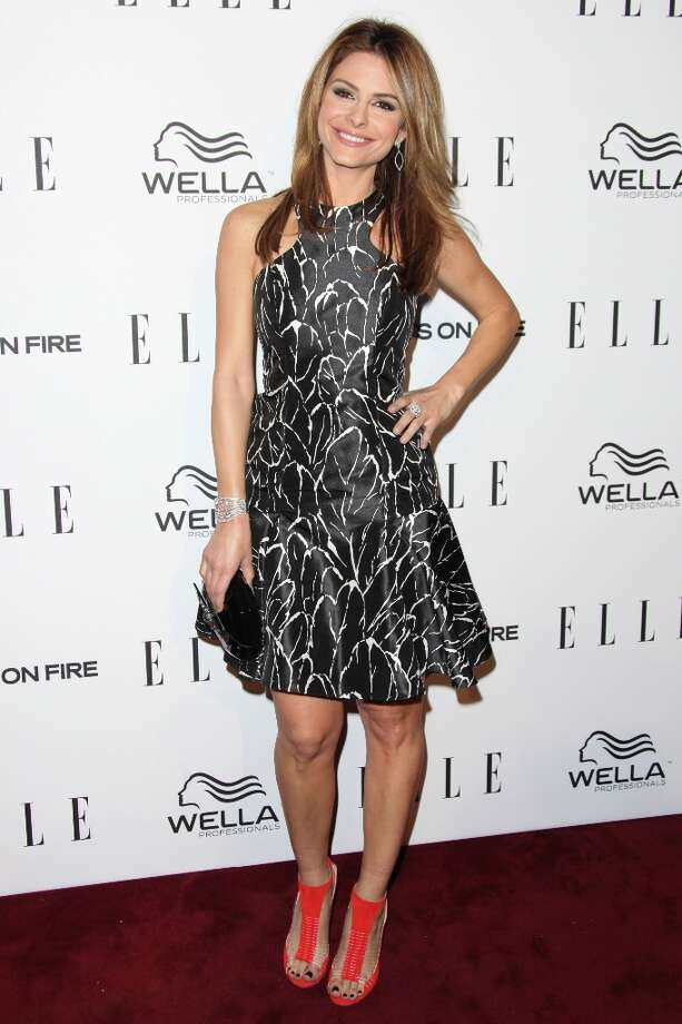 Maria Menounos attends the ELLE Women in Television Celebration presented by Hearts on Fire Diamonds and Wella Professionals held at Soho House on January 24, 2013 in West Hollywood, California. Photo: Tommaso Boddi, Getty Images / 2013 Getty Images