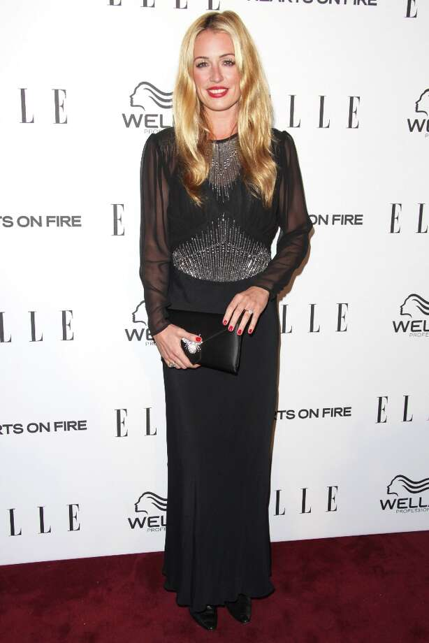 Cat Deeley attends the ELLE Women in Television Celebration presented by Hearts on Fire Diamonds and Wella Professionals held at Soho House on January 24, 2013 in West Hollywood, California. Photo: Tommaso Boddi, Getty Images / 2013 Getty Images