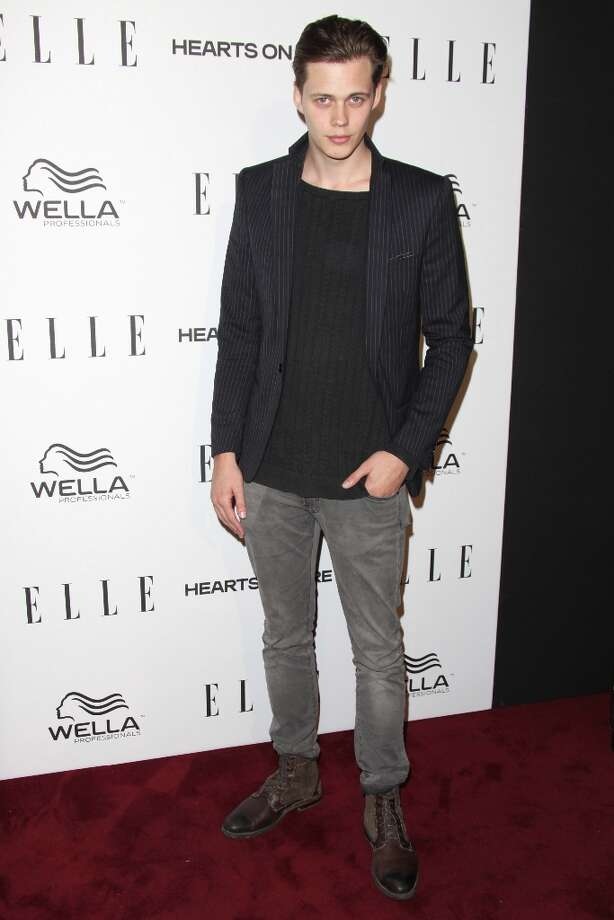 Bill Skarsgard attends the ELLE Women in Television Celebration presented by Hearts on Fire Diamonds and Wella Professionals held at Soho House on January 24, 2013 in West Hollywood, California. Photo: Tommaso Boddi, Getty Images / 2013 Getty Images