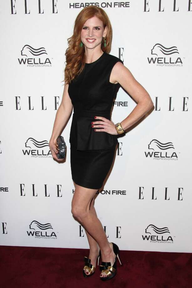 Sarah Rafferty attends the ELLE Women in Television Celebration presented by Hearts on Fire Diamonds and Wella Professionals held at Soho House on January 24, 2013 in West Hollywood, California. Photo: Tommaso Boddi, Getty Images / 2013 Getty Images