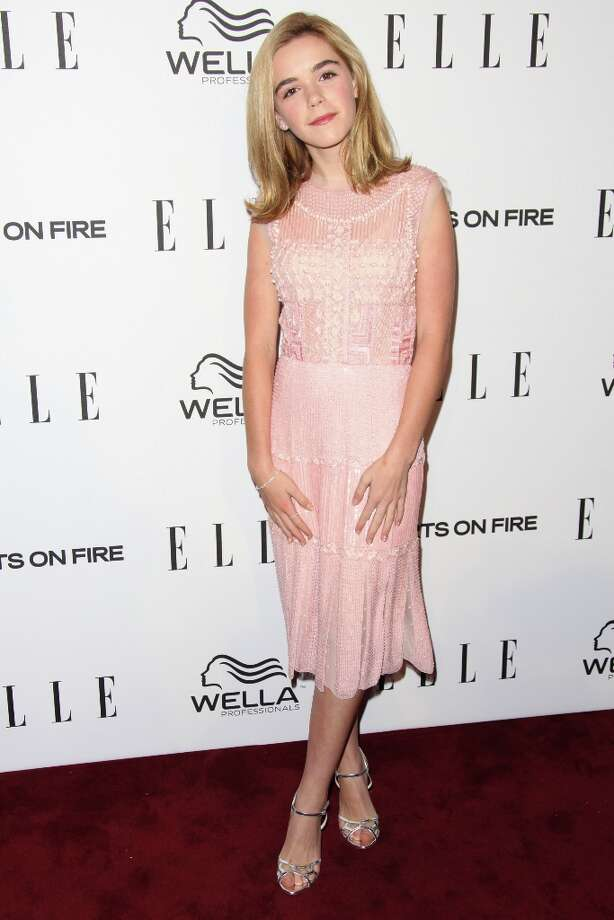 Kiernan Shipka attends the ELLE Women in Television Celebration presented by Hearts on Fire Diamonds and Wella Professionals held at Soho House on January 24, 2013 in West Hollywood, California. Photo: Tommaso Boddi, Getty Images / 2013 Getty Images