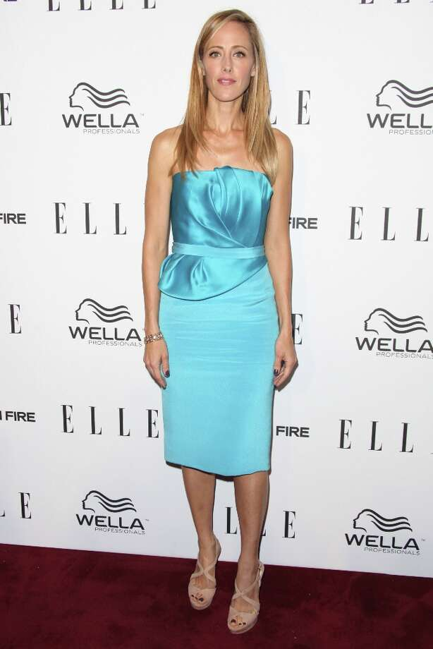 Kim Raver attends the ELLE Women in Television Celebration presented by Hearts on Fire Diamonds and Wella Professionals held at Soho House on January 24, 2013 in West Hollywood, California. Photo: Tommaso Boddi, Getty Images / 2013 Getty Images