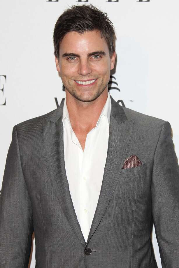 Colin Egglesfield attends the ELLE Women in Television Celebration presented by Hearts on Fire Diamonds and Wella Professionals held at Soho House on January 24, 2013 in West Hollywood, California. Photo: Tommaso Boddi, Getty Images / 2013 Getty Images
