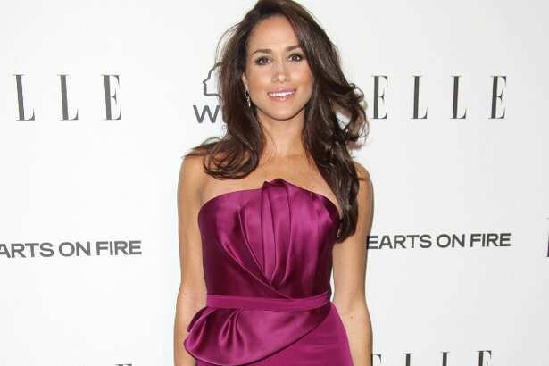 Meghan Markle attends the ELLE Women in Television Celebration presented by Hearts on Fire Diamonds and Wella Professionals held at Soho House on January 24, 2013 in West Hollywood, California.