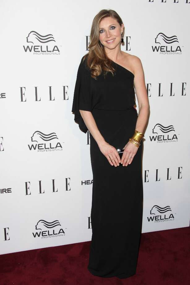 Sarah Chalke attends the ELLE Women in Television Celebration presented by Hearts on Fire Diamonds and Wella Professionals held at Soho House on January 24, 2013 in West Hollywood, California. Photo: Tommaso Boddi, Getty Images / 2013 Getty Images