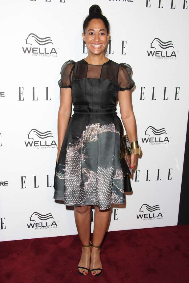 Tracee Ellis Ross attends the ELLE Women in Television Celebration presented by Hearts on Fire Diamonds and Wella Professionals held at Soho House on January 24, 2013 in West Hollywood, California. Photo: Tommaso Boddi, Getty Images / 2013 Getty Images