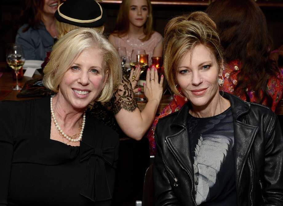 Writer Callie Khouri and ELLE Editor-in-Chief Robbie Myers attend the ELLE's Women in Television Celebration at Soho House on January 24, 2013 in West Hollywood, California. Photo: Michael Kovac, Getty Images For ELLE / 2013 Getty Images