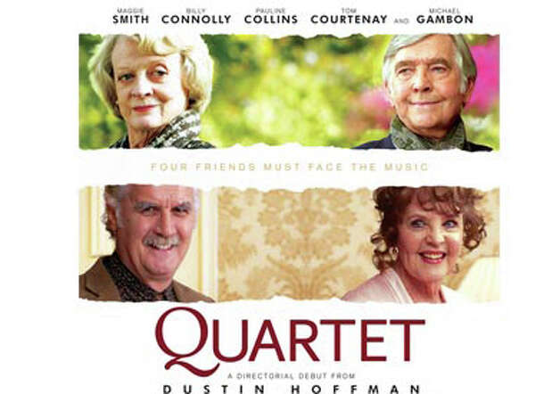 "The movie, ""Quartet,"" the first directed by Dustin Hoffman, is playing in area theaters. Photo: Contributed Photo / Westport News contributed"