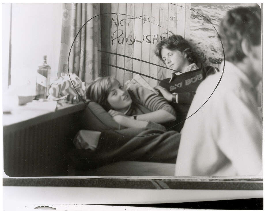 """This image provided by RR Auction shows a photograph marked """"not to be published"""" of a teenage Diana Spencer before she became Princess of Wales, with a young friend seated beside her. RR Auction in Amherst, N.H., says the photo sold Thursday, Jan. 24, 2013 to a real estate investor from San Diego for $18,306, well above early estimates. Stamped February 1981 on the back, the photo was taken around the time Charles, the Prince of Wales, and Lady Diana Spencer ended months of speculation and announced they were to be married. (AP Photo/RR Auction) Photo: Uncredited"""