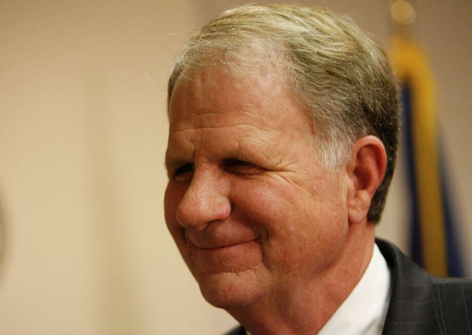 Congressman Ted Poe makes an appearance at the Houston Area Women's Center on Jan. 29, 2010, in Houston. Photo: Julio Cortez, Houston Chronicle / Houston Chronicle