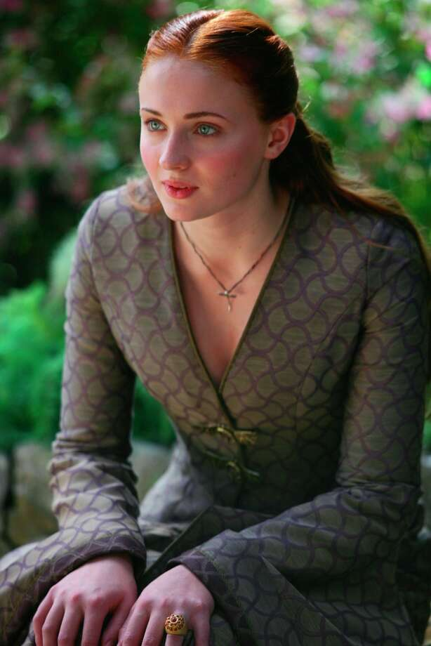 Sophie Turnerplays Sansa Stark.