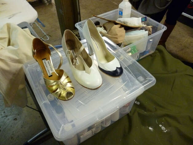 Tap shoes and heels reign supreme in the 1930s-era of Anything Goes.