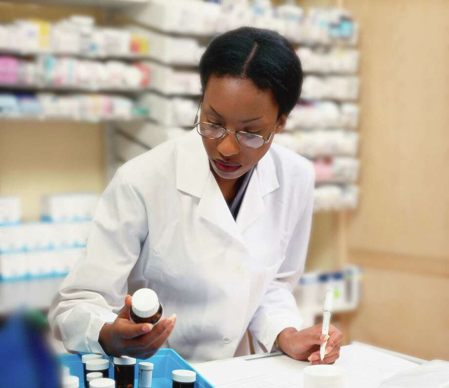 The field of pharmacy offers workplace variety, with settings ranging from hospitals to retail pharmacies. Pharmacists with an entrepreneurial spirit may choose to start their own retail pharmacies / (c) Stockbyte