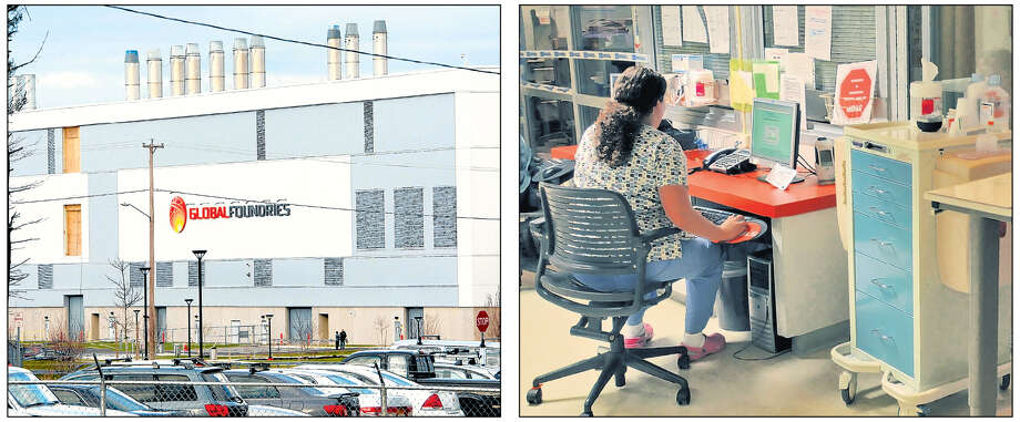 Where the jobs are in the region: Global Foundries and nursing.