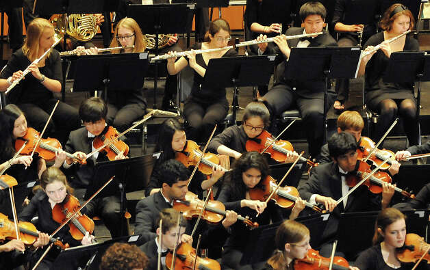 The Greater Bridgeport Youth Orchestras' Winter Concert is scheduled for Sunday, Feb. 10, at Bridgeport's Klein Memorial Auditorium. Photo: Contributed Photo