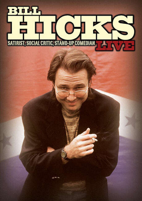 Bill Hicks, a legend, truthsayer, shaman, philosopher and much more. / handout cover scan